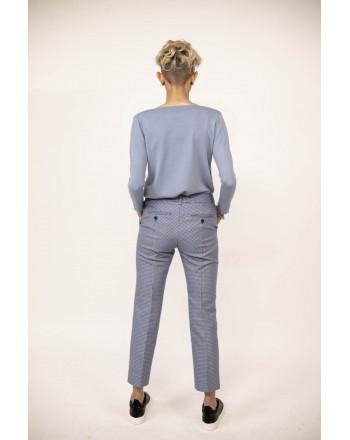 WEEK END MAX MARA -  GALIZIA Cardigan in cotton and silk - Light Blue
