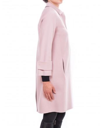 MAX MARA STUDIO - BERTO Wool coat - Pink