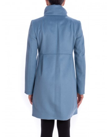 FAY - Wool and Cashmere Coat with Frogs  ROMANTIC - Avion