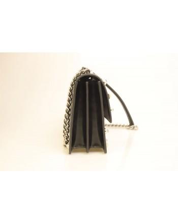 PINKO - IDILLIO Medium Leather bag - Black