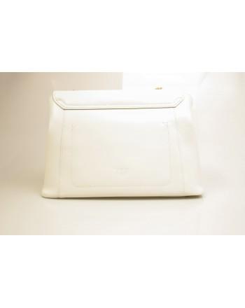 PINKO -  leather bag ABBONDANZA - White