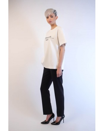 WEEK END MAX MARA - T-Shirt in cotone - Bianco
