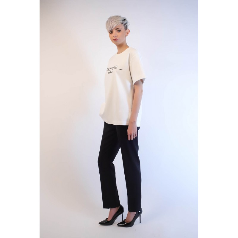 WEEK END MAX MARA - T-Shirt in cotone - Bianco