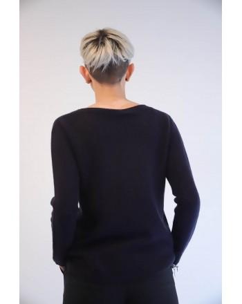 S-MAX MARA - Cashmere Sweater GIORGIO - Dark Blue
