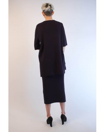 WEEKEND MAX MARA - Viscose Knit with Side Band HARRY  - Blue