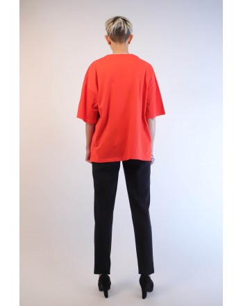 PINKO - T-Shirt PINKOSO in Jersey - Rosso