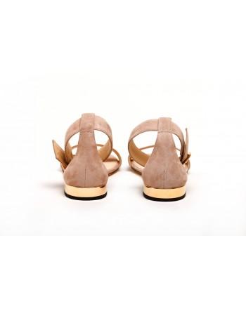 JIMMY CHOO -  Suede Flats  JAIMIE - Ballet Pink