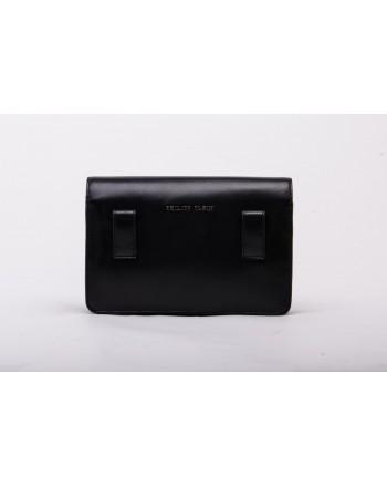 PHILIPP PLEIN - Leather Pouch STATEMENT - Black