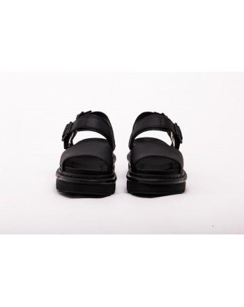 DR. MARTENS - Leather Sandal VOSS - Black