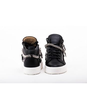 GIUSEPPE ZANOTTI -   Sneakers Mid Top CHAIN - Nero