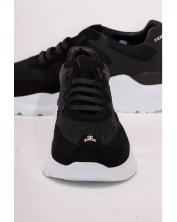 PHILIPP PLEIN - Sneakers Low Top  STATEMENT - Nero