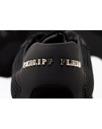 PHILIPP PLEIN - Sneakers Low Top  STATEMENT - Black