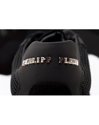 PHILIPP PLEIN - Sneakers Low Top  STATEMENT - Nero