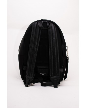 PHILIPP PLEIN - Fabric ROCK PP Backpack with Logo and Pocket  - Black