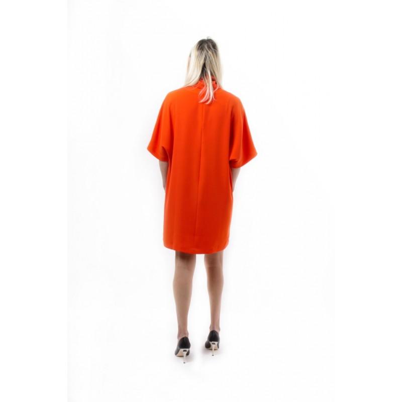 MCQ BY ALEXANDER MCQUEEN - Dress TURTLENECK MINI - True Red
