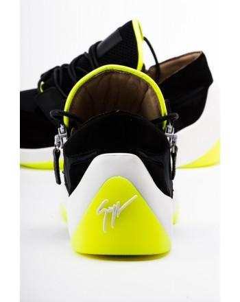 GIUSEPPE ZANOTTI - Sneakers Low Top CARLITOS - Black