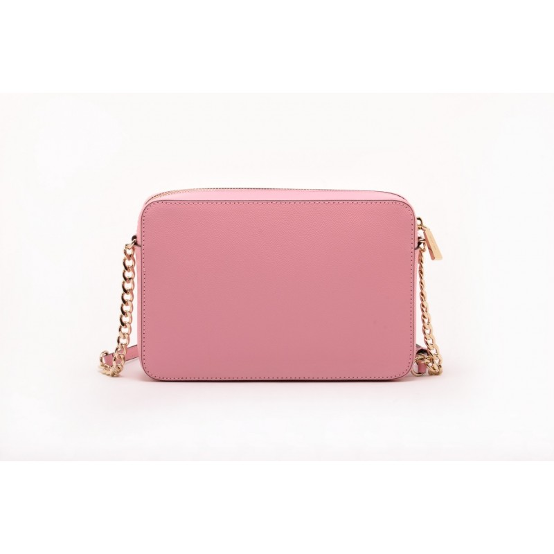 MICHAEL BY MICHAEL KORS - Tracolla JET SET TRAVEL CROSSBODY in pelle Saffiano  - Rosa Carne