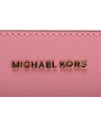 MICHAEL BY MICHAEL KORS - Saffiano leather JET SET CROSSBODY Bag  - Pale Pink