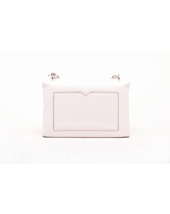 MICHAEL BY MICHAEL KORS -  Big Leather CECE Shoulder bag - White