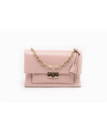 MICHAEL BY MICHAEL KORS - CECE Leather Medium Shoulder Bag - Soft Pink
