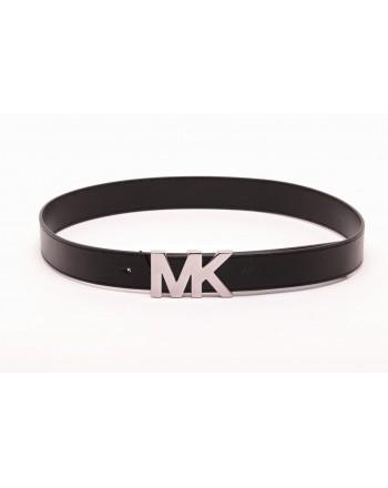 MICHAEL BY MICHAEL KORS -  Cintura in Pelle con Logo - Nero