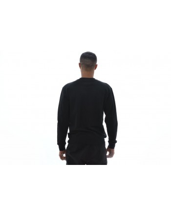 MCQ BY ALEXANDER MCQUEEN - Long sleeve cotton T-shirt with print - Black