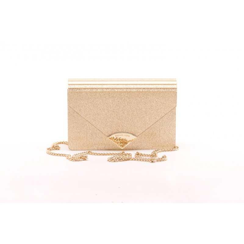 MICHAEL BY MICHAEL KORS -   BARBARA PALE GOLD Pochette - Gold
