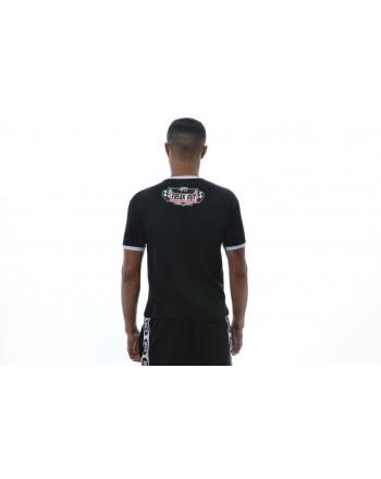 MCQ BY ALEXANDER MCQUEEN -  Cotton Printed T-Shirt   - Black