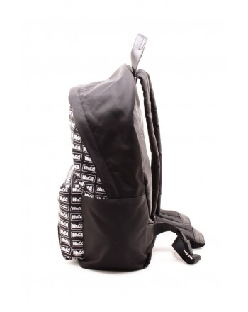 MCQ BY ALEXANDER MCQUEEN -  MCQ Logo Metal Repeat Backpack - Black