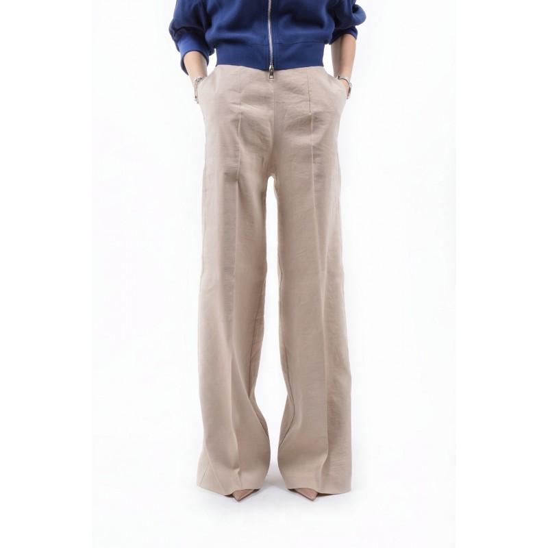 PINKO - Pantalone LUIGIA in lino - Beige