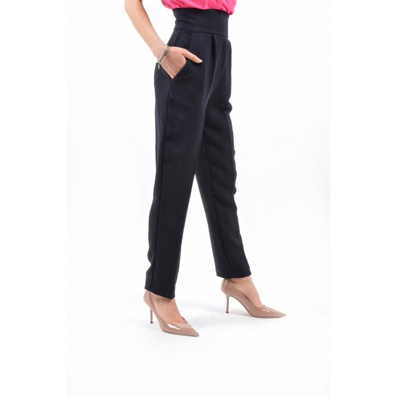 PINKO - Pantalone Double NATALIA - Nero