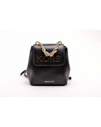MICHAEL BY MICHAEL KORS - Zaino MOTT piccolo in pelle - Nero