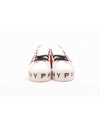 PHILOSOPHY di LORENZO SERAFINI  -  Sneakers SUPERGA for PHILOSOPHY con Suola Logata - Bianco/Rosso