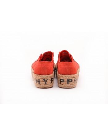 PHILOSOPHY di LORENZO SERAFINI  -  Sneakers SUPERGA per PHILOSOPHY con Suola in Corda - Tangerine