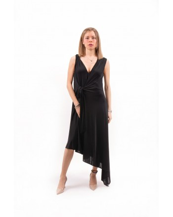 PINKO - Jersey Dress AYLIN- Black