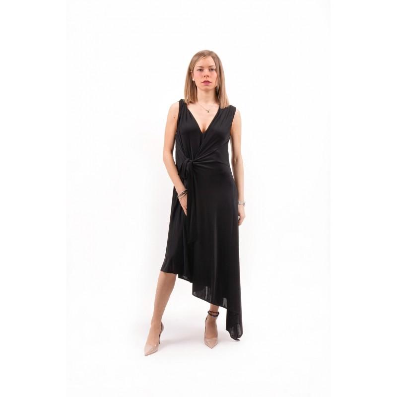 PINKO - Jersey Dress AYLIN- Black