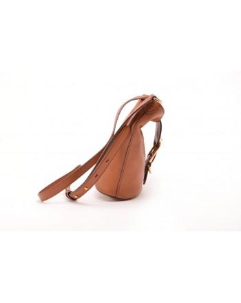 POLO RALPH LAUREN - Leather Bagn BUCKET - Lauren Tan