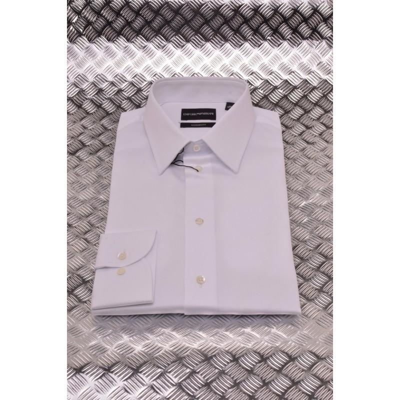 EMPORIO ARMANI - Modern Fit Shirt -  White