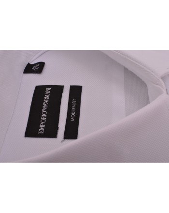 EMPORIO ARMANI - Modern Fit Shirt -  White