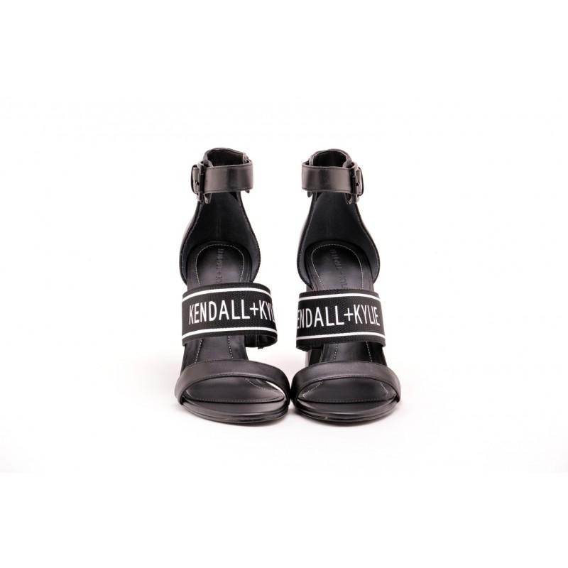 KENDALL+ KYLIE - Sandalo con Fascia Logata JAYNE  - Nero