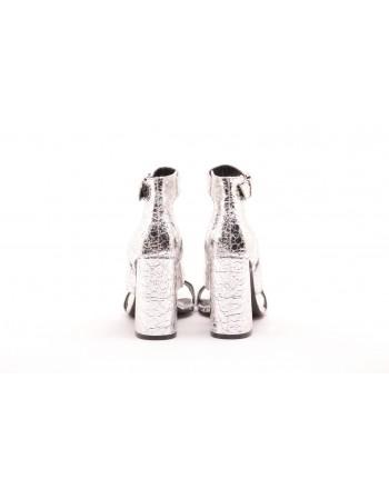 KENDALL+ KYLIE - Sandalo effetto Craquelè JAYNE - Silver