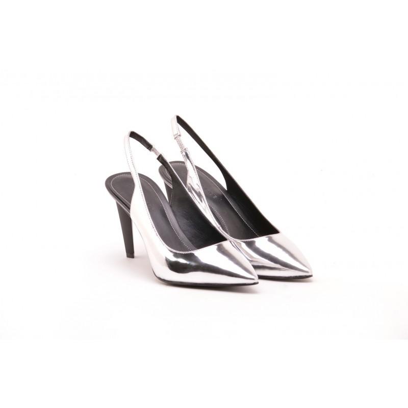 KENDALL+ KYLIE - KKMORA Slingback  - Silver