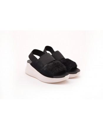 UGG - Sandalo SILVERLAKE - Nero/Bianco