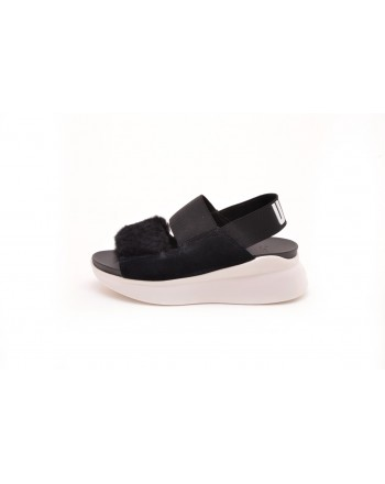 UGG - SILVERLAKE Sandal - Black/White