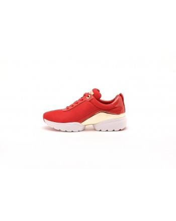 MICHAEL BY MICHAEL KORS - High Sole Sneakers - Bright Red