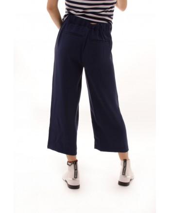 MICHAEL BY MICHAEL KORS - Pantalone Cropped corto con bottoni dorati - True Navy
