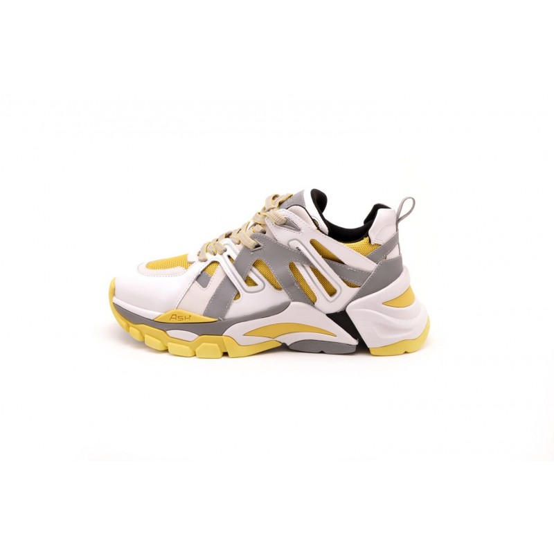 ASH - Sneakers FLASH - Bianco/Sun/Sliver