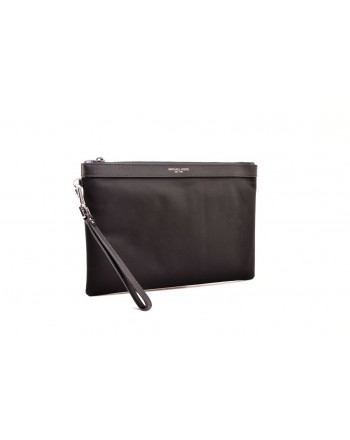 MICHAEL BY MICHAEL KORS - Portadocumenti in pelle con zip - Nero