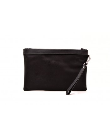MICHAEL BY MICHAEL KORS - Leather document holder with zip - Black