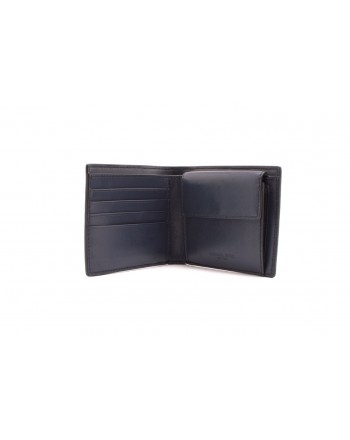 MICHAEL BY MICHAEL KORS -Leather Wallet - Navy